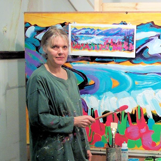 Devita Stipek Writer - Mural