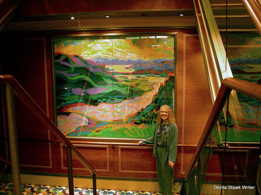 Devita Stipek Writer - Mt. Roberts, Juneau, Alaska